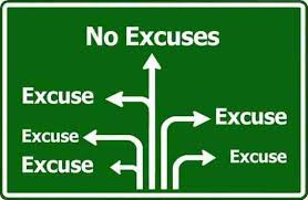 Image result for making excuses